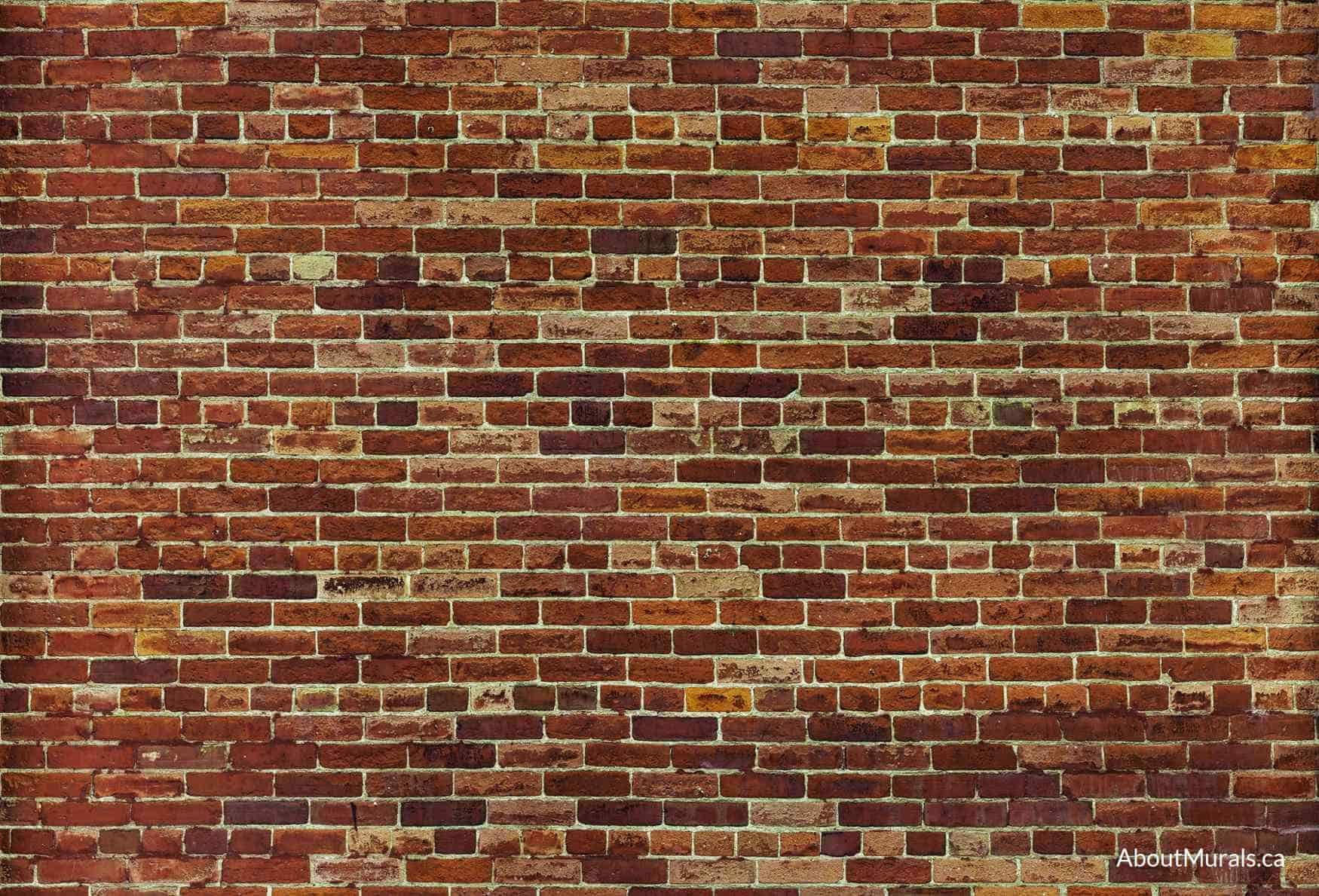 How To Add Brick To A Wall Not Just Another Brick On The Wall Mural Removable Wallpaper