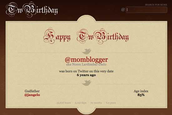 twitter birthday today