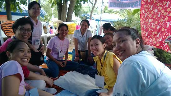 nanay bayanihan volunteers