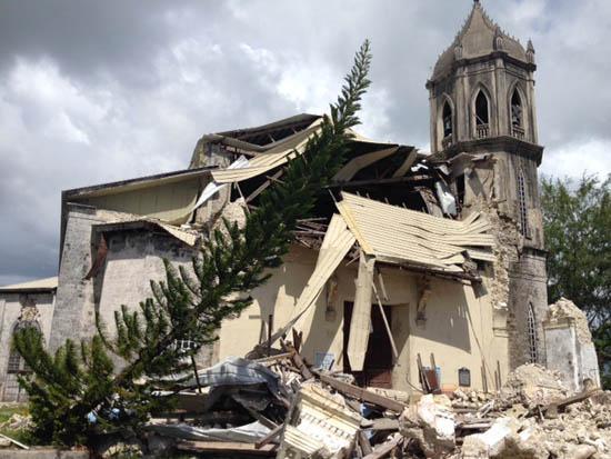 dawis church in bohol