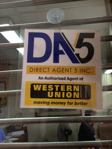 western union direct agent