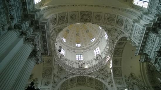 cathedral in marienplatz