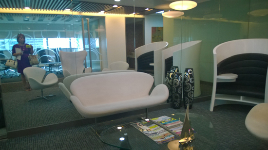 virtual office lobby