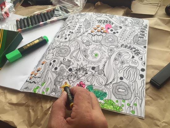 coloring book from kankan ramos