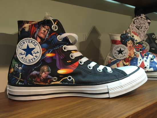 DC converse justice league