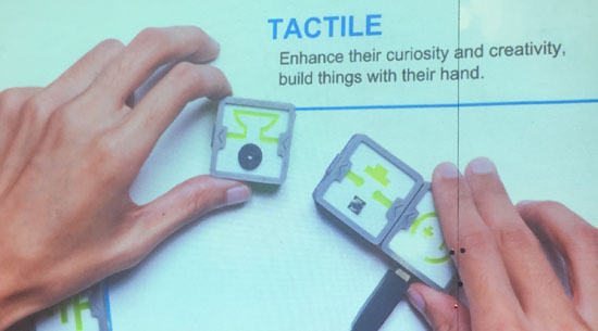 tactile iqube