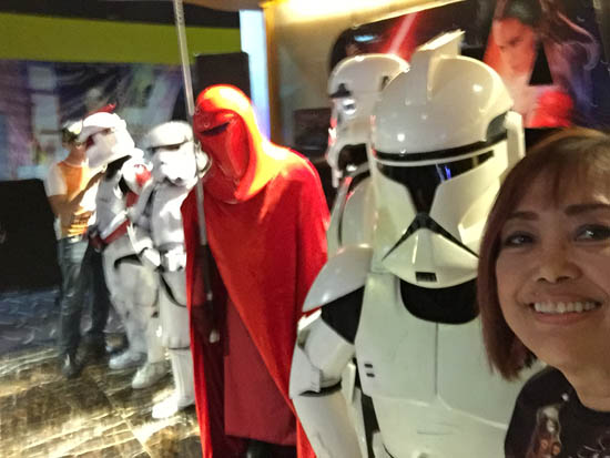selfie with star wars