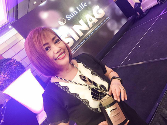 sinag sunlife financial literarcy award