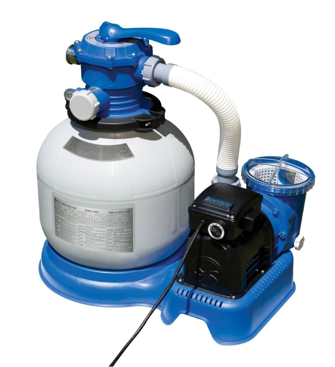 Intex above ground pool pumps best above ground pools for Swimming pool pumps for above ground pools