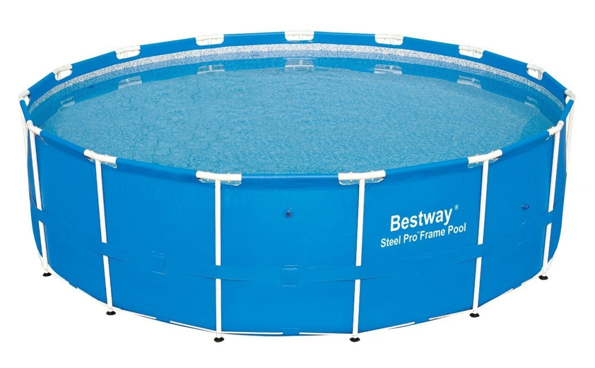 Bestway steel pro frame pool review best above ground pools for Best above ground pool reviews