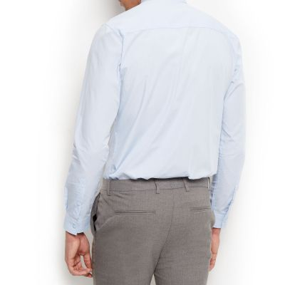 New Look Light Blue Long Sleeve Shirt