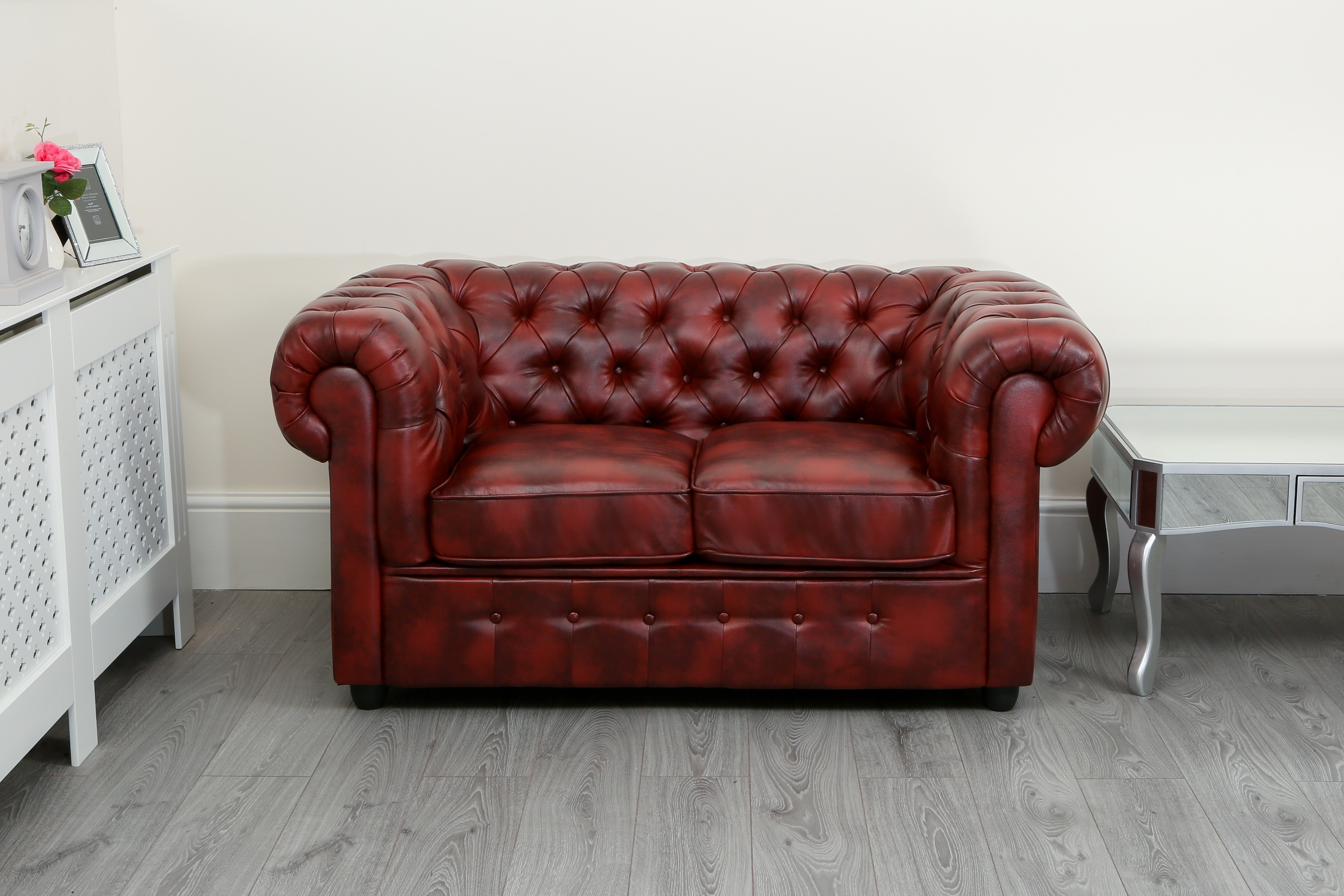 6 Seater Corner Sofa Chesterfield Oxblood Red Chesterfield 2 Seater Abreo Home Furniture