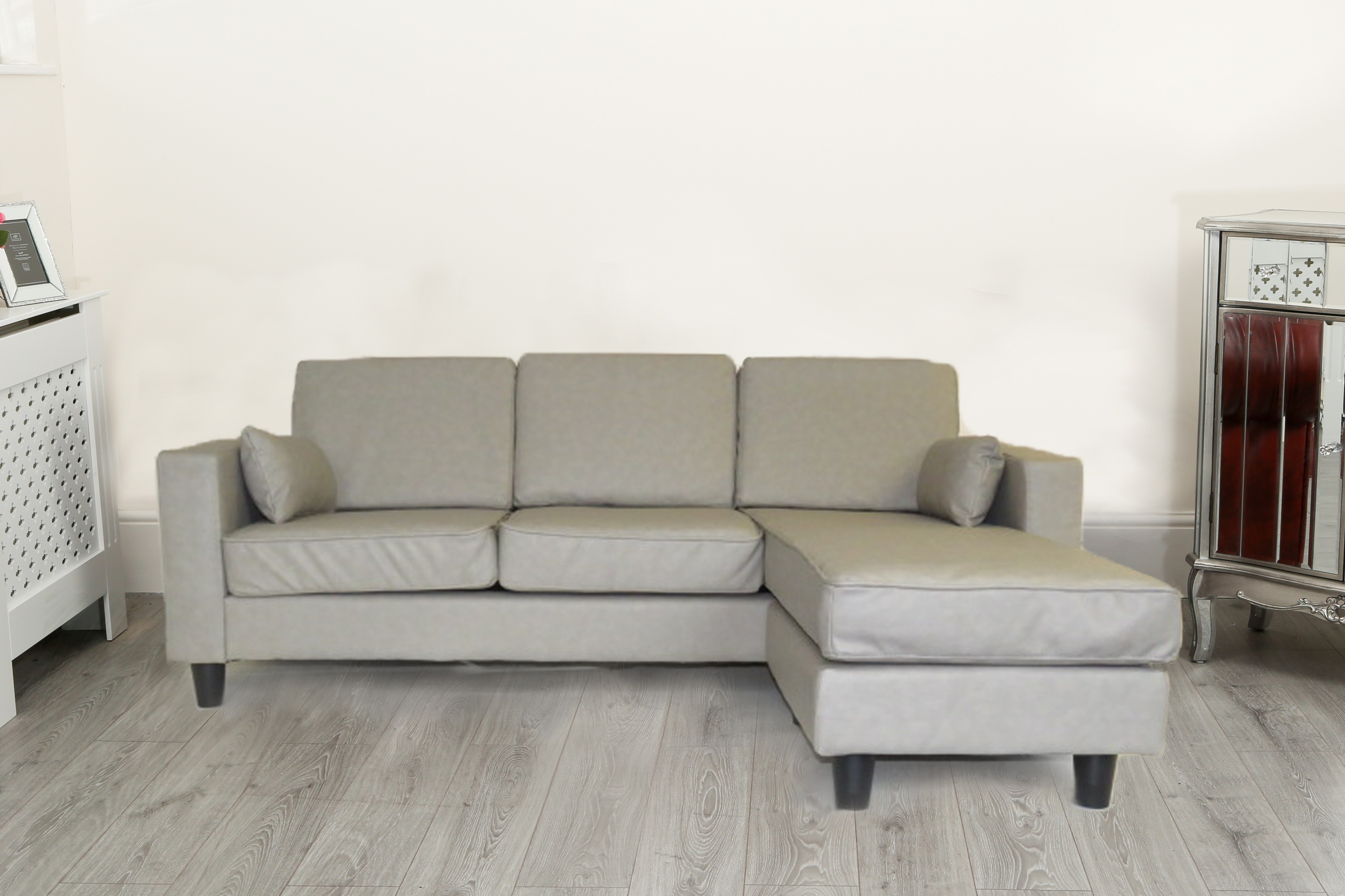 Grey Sofas Uk Next Camden Corner Grey Sofa