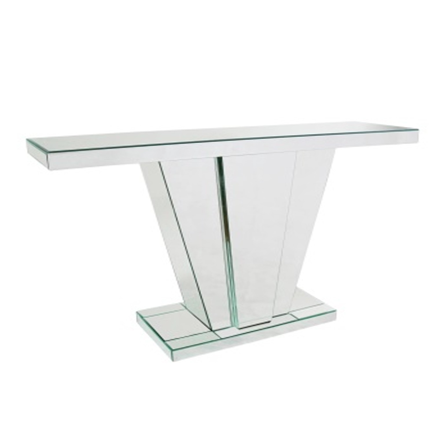 Fullsize Of Mirrored Console Table