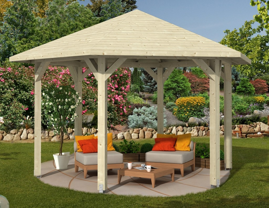 Tonnelle Jardin Ronde   Freinder Cataloguepergola Kiosque Gloriette ...