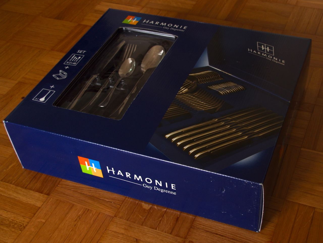 Coffret Menagere Menagere Guy Degrenne Harmonie 49 Pieces