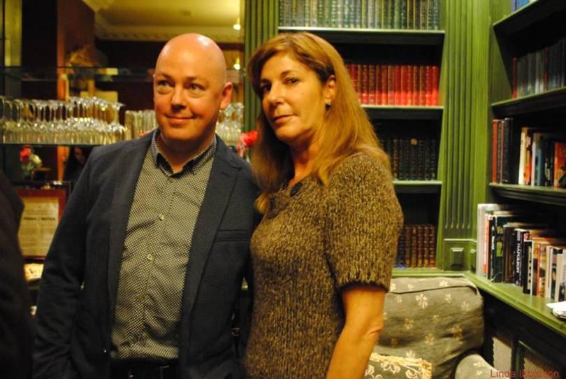 John Boyne with Deborah Henry