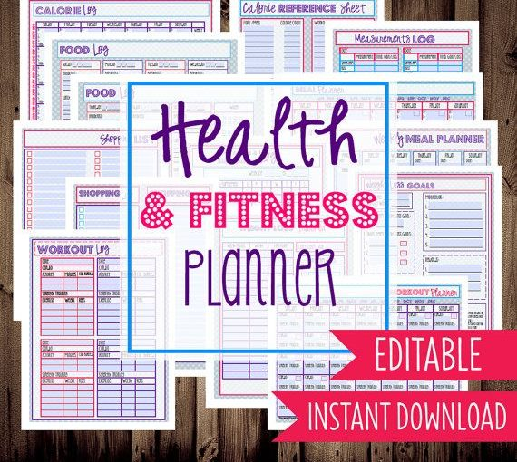 Health and exercise organizer \u2013 Submit food, exercise, track weight