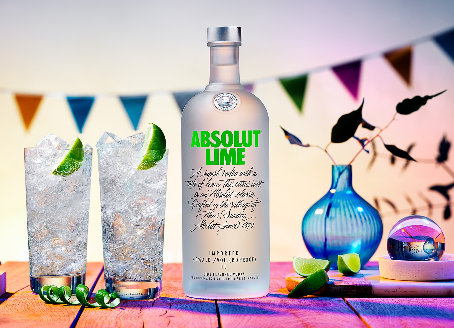 Wodka Mischen Lime Vodka Absolut Lime