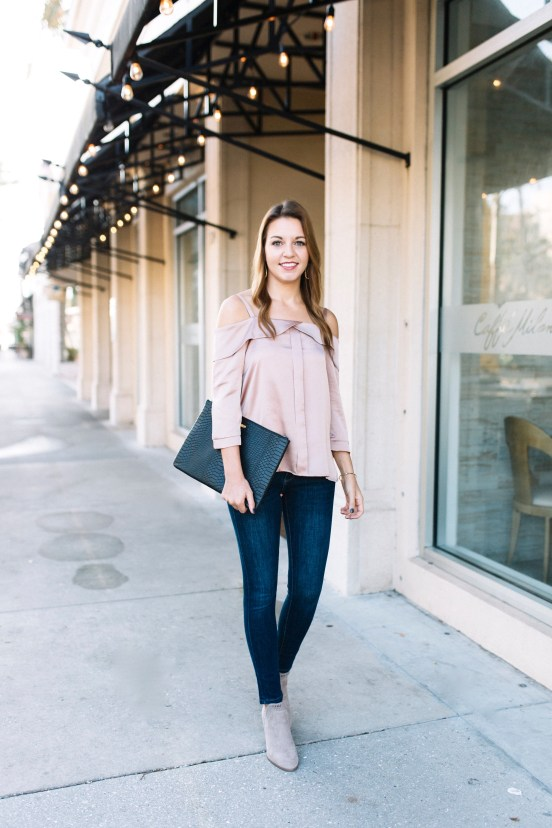 Must Have Fall Jeans with Banana Republic by Florida fashion blogger Absolutely Annie