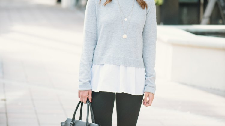 Workwear Wednesday: Layered Sweater