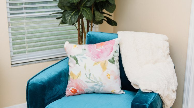 How to Style a Velvet Chair