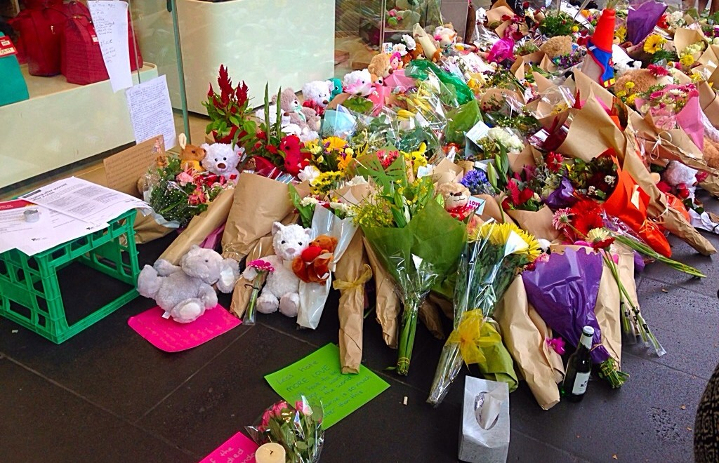 Melbourne | Loss and love at Bourke Street Mall
