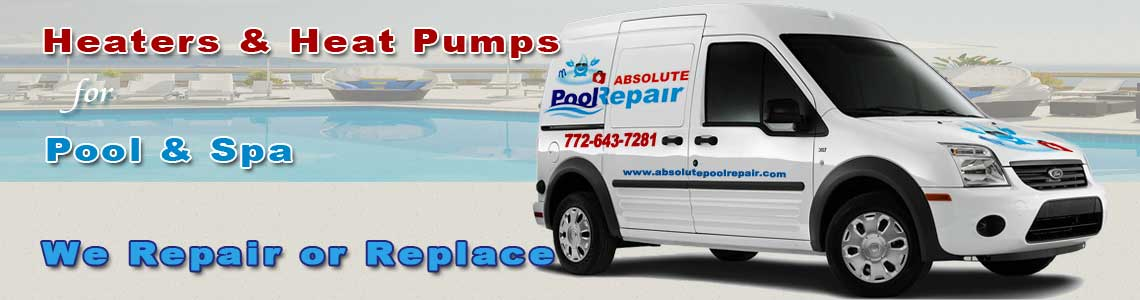 Heaters & Heat Pumps for Pool & Spa Vero Beach