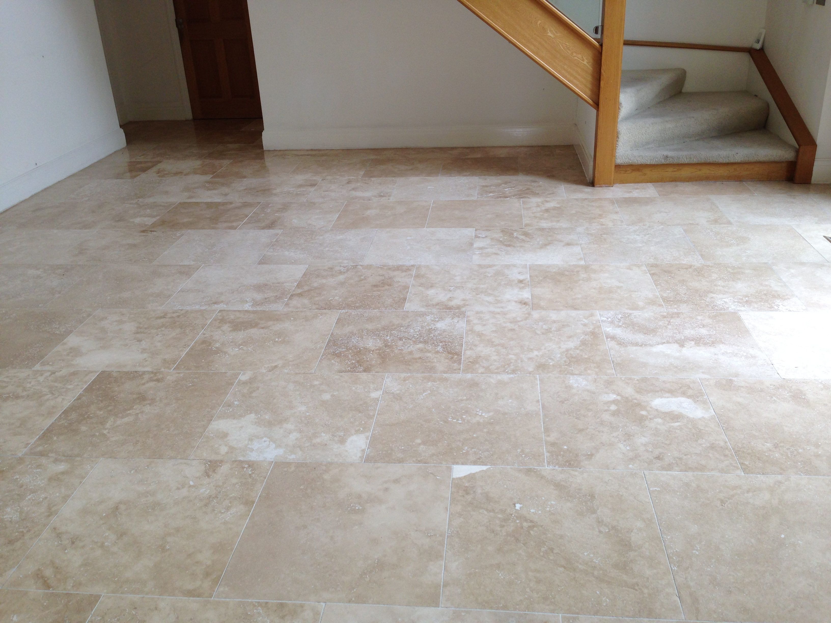 Travertine Countertop Care Travertine Floor Cleaning And Polishing Wilmslow