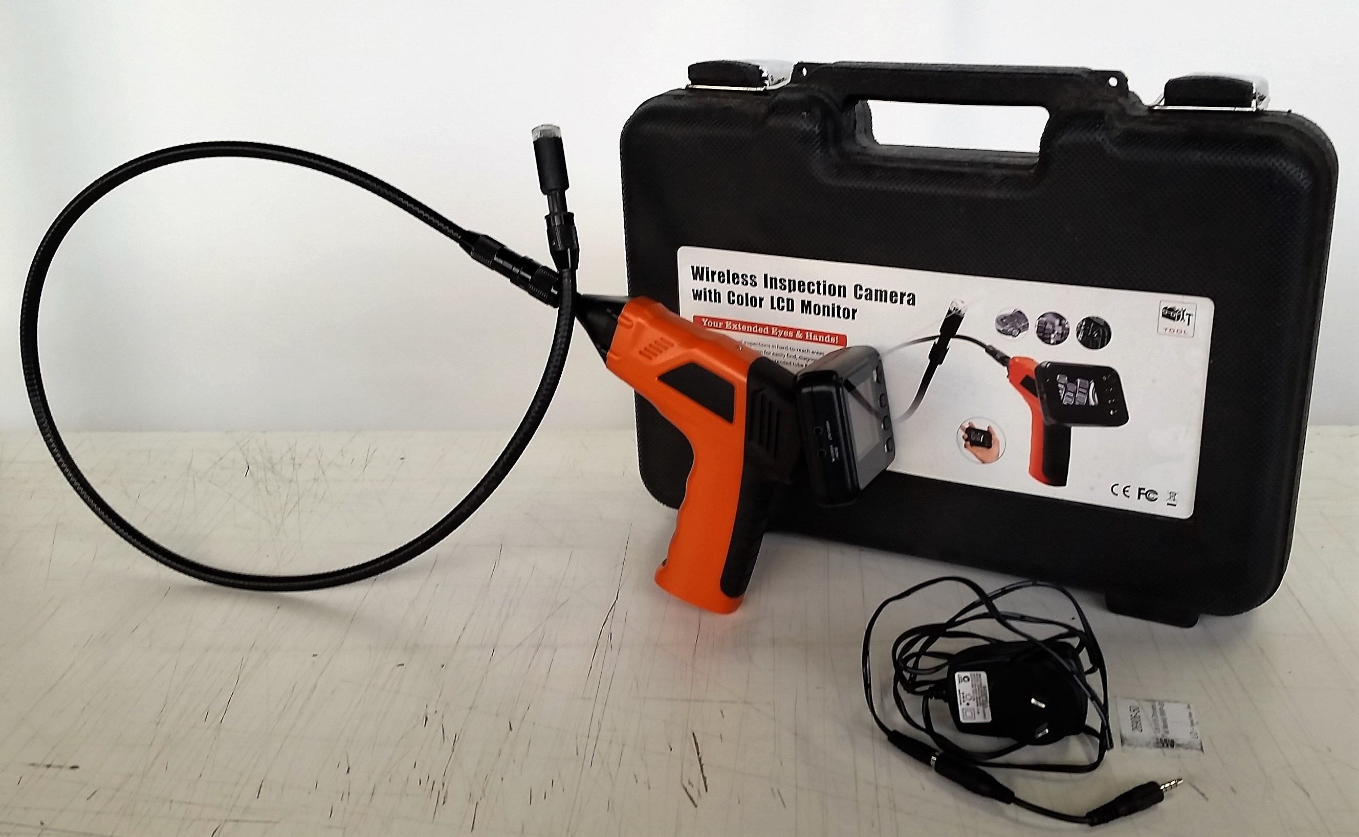 Wireless Inspection Camera Brand New Wireless Inspection Camera With Color Lcd Monitor Rrp 300 00