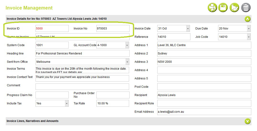 Five Quick Invoicing Tips Abtrac Knowledge Base - quick invoices