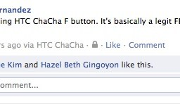 HTC ChaCha: The Facebook phone you've been waiting for! (Part I)