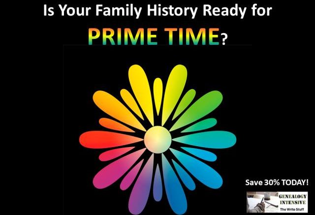 Are Your Family History Writing Skills Ready for PRIME TIME