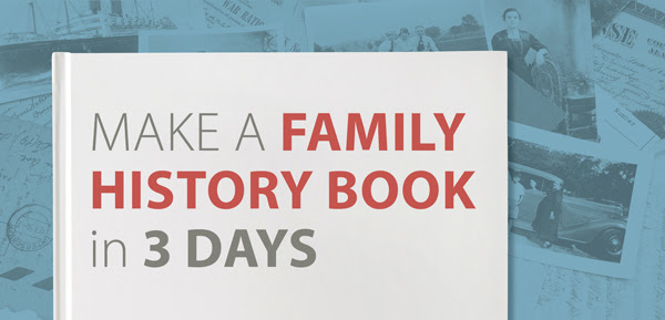 family tree magazine make a family history book in 3 days online