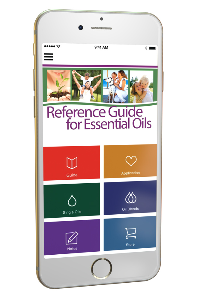 The Reference Guide for Essential Oils App Is Now Available