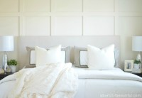 DIY Paneled Wall | Wainscoting - A Burst of Beautiful