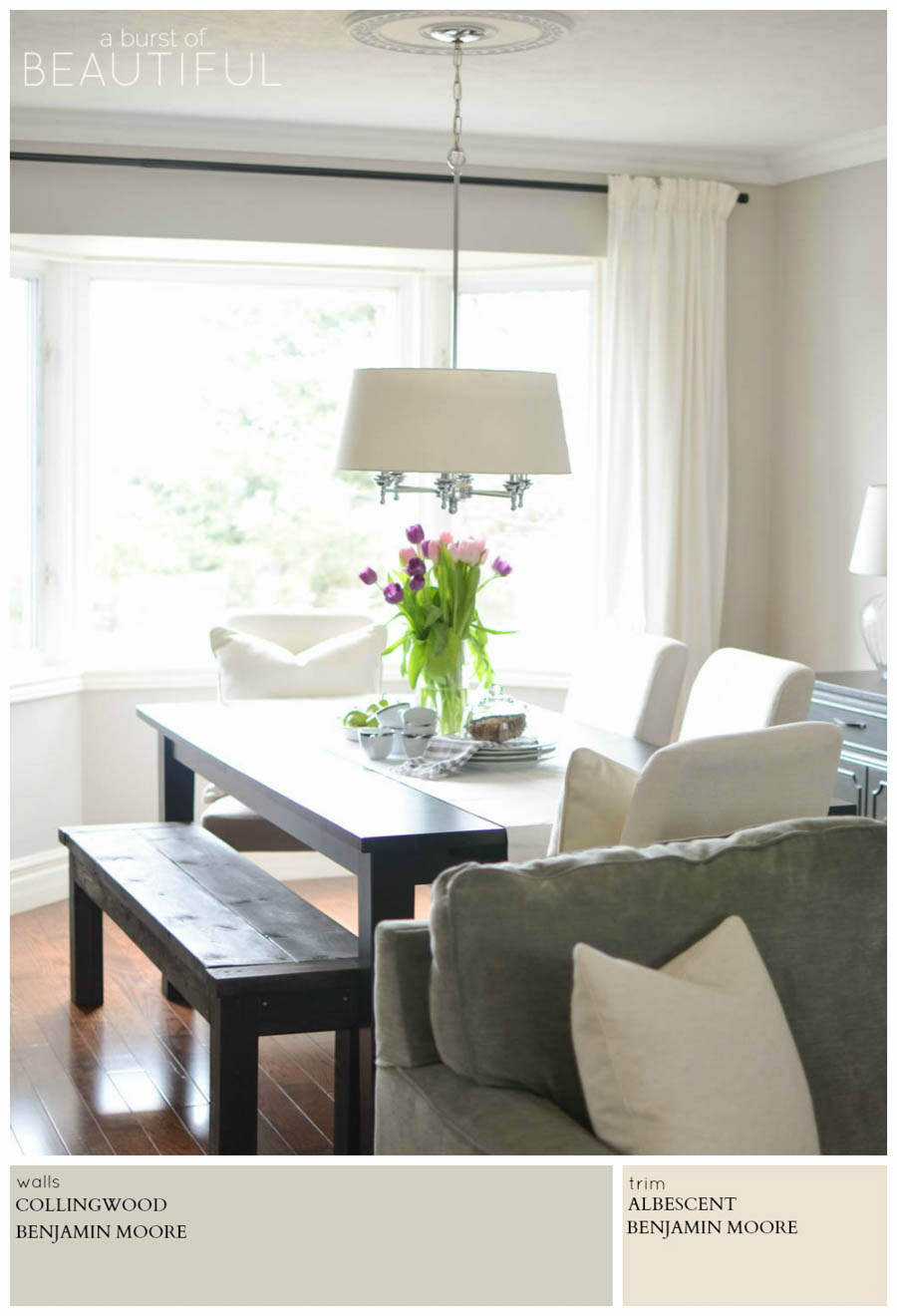 Benjamin Moore Bedroom Colors Modern Farmhouse Neutral Paint Colors A Burst Of Beautiful