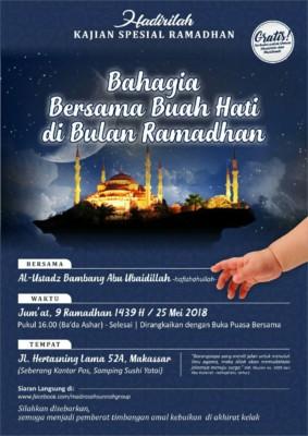 Bahagia Bersama Buah hati Di Bulan Ramadhan