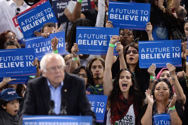 Bernie Sanders a future to believe in