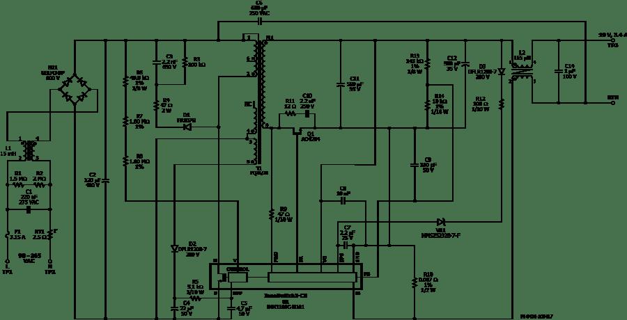 atx power supply circuit description