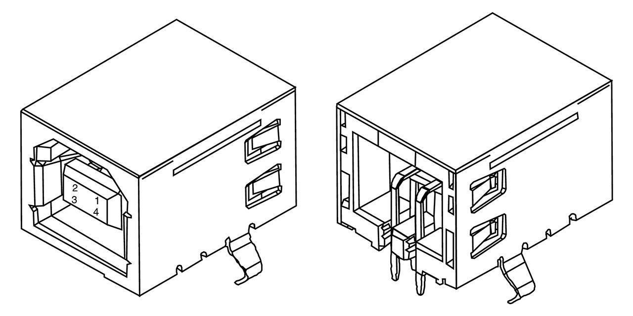 usb socket diagram