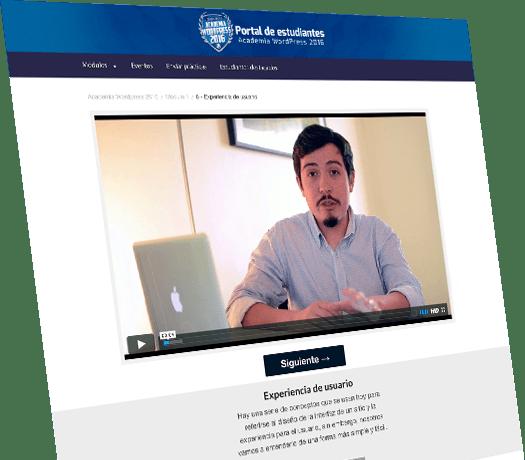 Academia WordPress