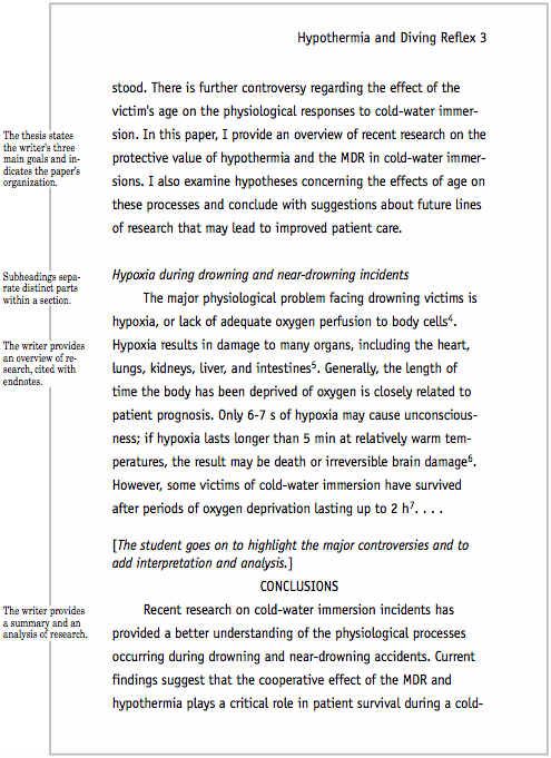 proper apa formatting essay