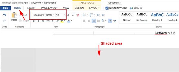 Google Mla Format Word 365 – Office 365 Skydrive Mla Format