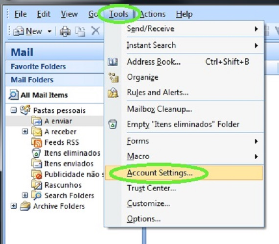 eGO Academy » How to set up an email account on Outlook? - create outlook account