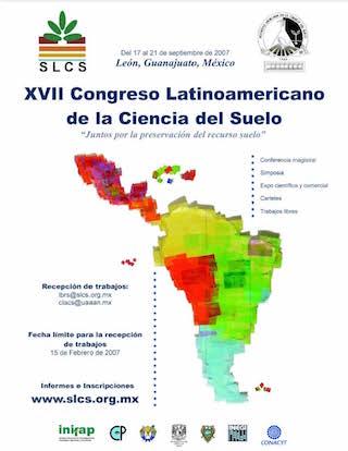e XVII Congreso Latinoamericano de la Ciencia del Suelo
