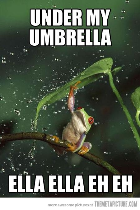 U Is For… Umbrella!