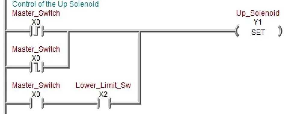 solving ladder logic Acc Automation