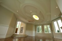 Custom Millwork | Wainscoting Panels | Coffered Waffle Ceiling