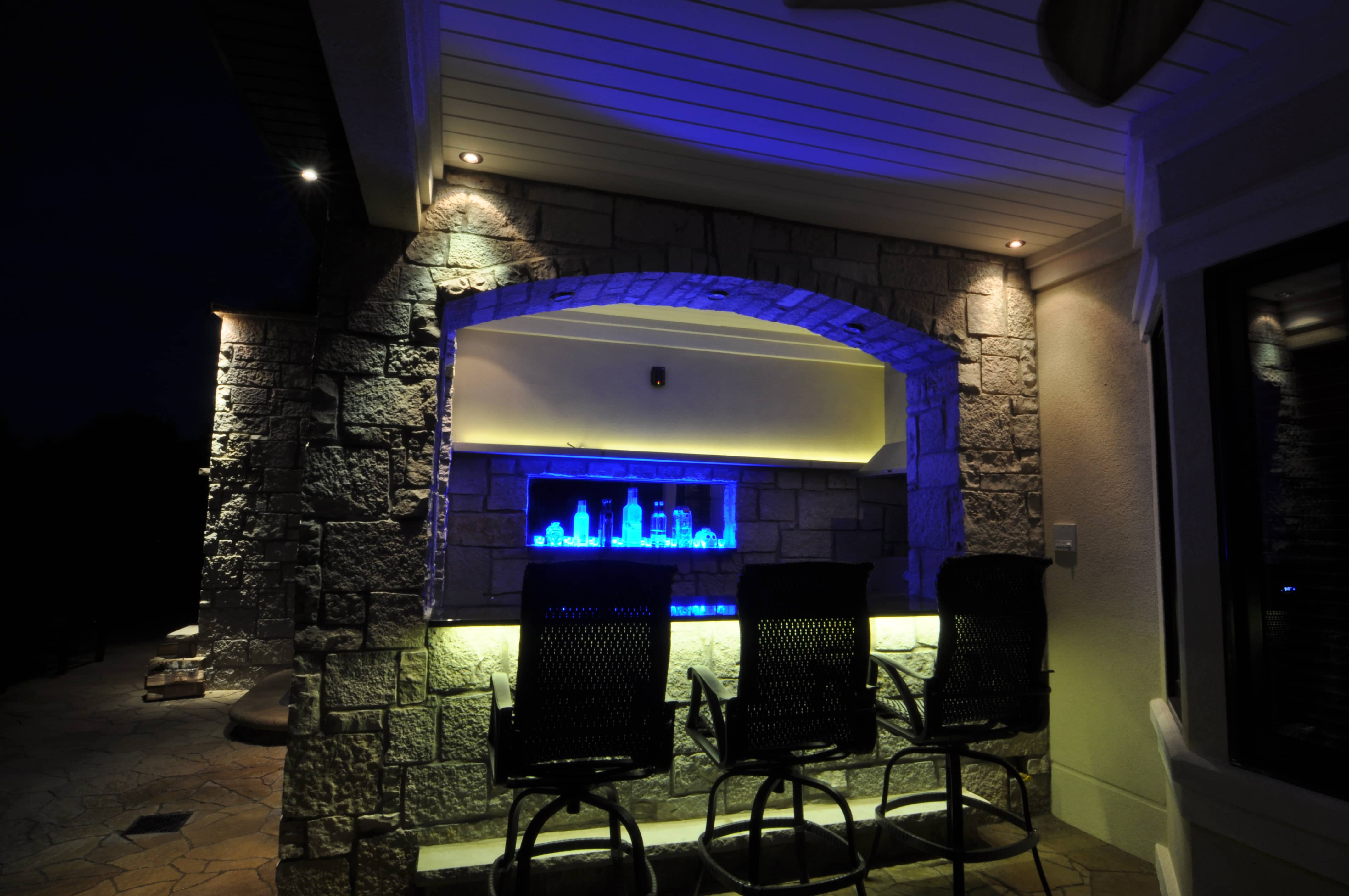 Kitchen Bar Lights Kitchen Bars And Grills Outdoor Lighting In Chicago Il